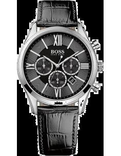 Chic Time | Montre Homme Hugo Boss Ambassador 1513194 Index argentés chiffres romains et bâtons  | Prix : 229,99€