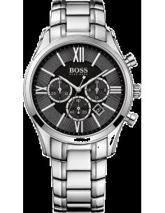 Chic Time | Montre Homme Hugo Boss Ambassador 1513196 Acier inoxydable argenté  | Prix : 305,15€