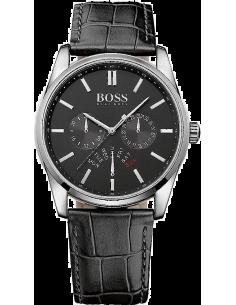 Chic Time   Montre Homme Hugo Boss 1513124 Bracelet en cuir noir    Prix : 279,65€