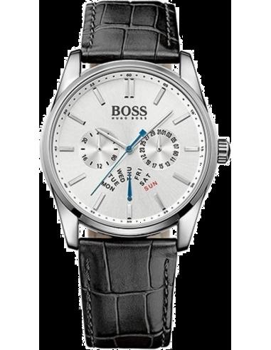 Chic Time   Montre Homme Hugo Boss 1513123 Bracelet couleur noire en cuir     Prix : 279,65€