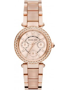 Chic Time | Montre Femme Michael Kors Parker MK6110 Or Rose  | Prix : 228,65 €