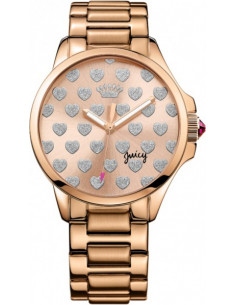 Chic Time | Montre Femme Juicy Couture Jetsetter 1901253 Or Rose  | Prix : 259,00 €