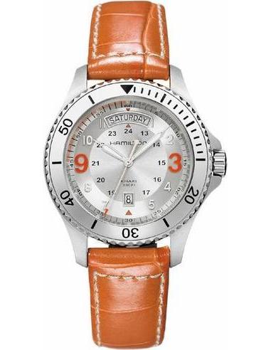 Chic Time   Montre Homme Hamilton Khaki King Scuba H64551857    Prix : 421,20€