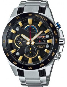 Chic Time | Montre Homme Casio Edifice Racing Red BullEFR-540RB-1AER Argent  | Prix : 299,00 €