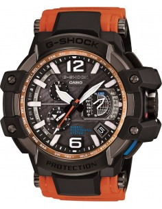 Chic Time | Montre Casio G-Shock Premium GPW-1000-4AER Orange  | Prix : 799,00 €