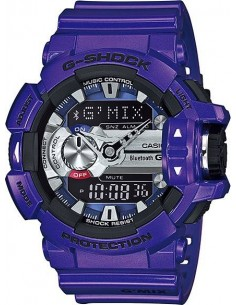 Chic Time | Montre Homme Casio G-Shock GBA-400-2AER Violet  | Prix : 199,00 €
