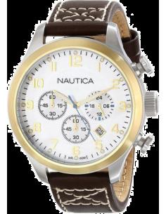 Chic Time | Montre Homme Nautica A15666G Marron  | Prix : 159,00€