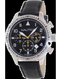 Chic Time | Montre Homme Nautica A16577G Noir  | Prix : 169,00€