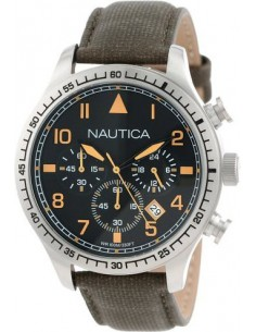 Chic Time | Montre Homme Nautica A16579G Vert  | Prix : 169,00 €