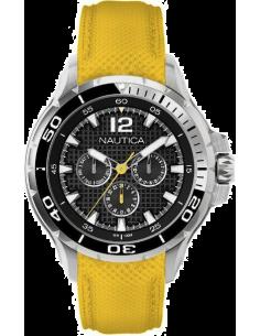 Chic Time | Montre Homme Nautica NST A17615G Jaune  | Prix : 179,00€