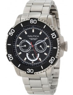 Chic Time | Montre Homme Nautica NST N19587G Argent  | Prix : 199,00 €
