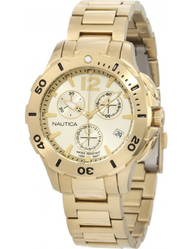 Chic Time | Montre Homme Nautica BFD N21532M Or  | Prix : 219,00€