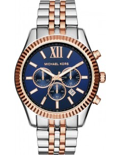 Chic Time | Montre Homme Michael Kors Lexington MK8412 Argent  | Prix : 167,40 €