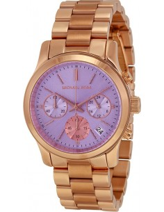 Chic Time | Montre Femme Michael Kors Runway MK6163 Or Rose  | Prix : 220,15 €
