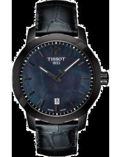 Chic Time   Montre Mixte Tissot Quickster T0954103612700 Noir    Prix : 340,00€
