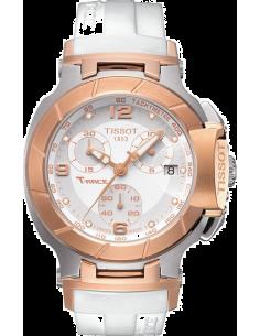Chic Time | Montre Femme Tissot T Race T0482172701601 Blanc  | Prix : 690,00€