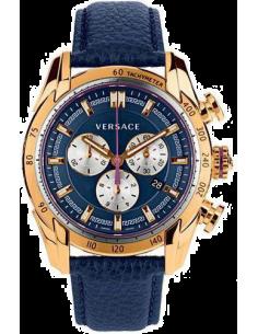 Chic Time | Montre Homme Versace VDB030014 Bleu  | Prix : 2,089.00