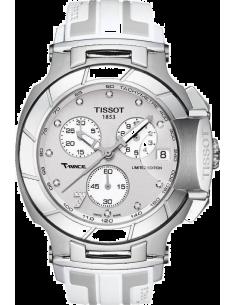 Chic Time   Montre Femme Tissot T Race T0484171703600 Blanc    Prix : 937,00€