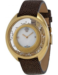 Chic Time | Montre Femme Versace 86Q701MD497S497 Marron  | Prix : 4,869.00