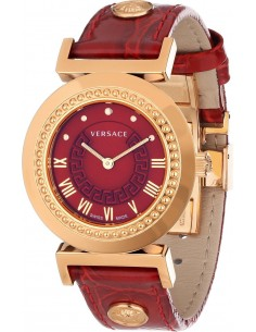 Chic Time | Montre Femme Versace P5Q80D800S800 Rouge  | Prix : 1,209.00
