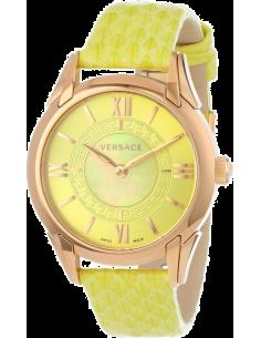 Chic Time | Montre Femme Versace VFF050013 Jaune  | Prix : 1,979.00