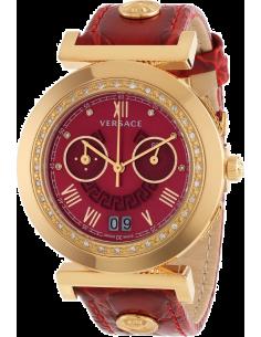 Chic Time | Montre Femme Versace VA9060013 Rouge  | Prix : 3,849.00