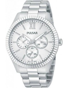 Chic Time | Montre modèle femme - Pulsar - Montre Femme Pulsar PP6125X1 Argent  - Prix : 109,00 €