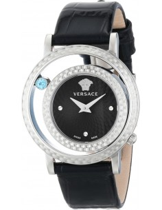 Chic Time | Montre Femme Versace Venus VDA010014 Noir  | Prix : 1,099.00