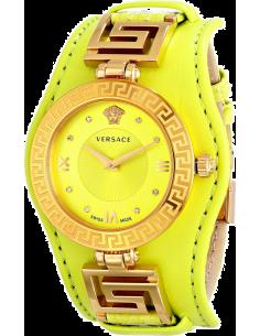 Chic Time | Montre Femme Versace VLA070014 Jaune  | Prix : 1,759.00