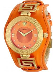 Chic Time | Montre Femme Versace VLA060014 Orange  | Prix : 1,759.00