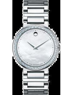 Chic Time | Montre Femme Movado Concerto 0606421 Argent  | Prix : 1,999.00