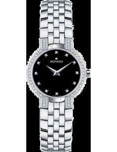Chic Time | Montre Femme Movado 605586 Argent  | Prix : 2,999.00