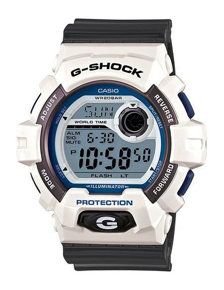 Chic Time | Montre Homme Casio G-Shock G-8900SC-7CR Gris  | Prix : 129,00€