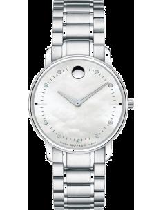 Chic Time | Montre Femme Movado 0606691 Argent  | Prix : 1,499.00