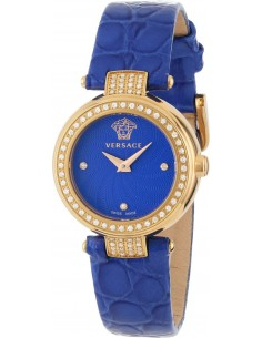 Chic Time | Montre Femme Versace Mystique M5Q81D115S115 Bleu  | Prix : 4,999.00