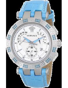 Chic Time | Montre Femme Versace V-Race 23C935D002S535 Bleu  | Prix : 3,849.00