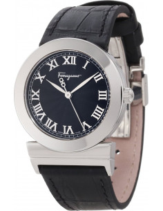 Chic Time | Montre Femme Salvatore Ferragamo F72SBQ9909S009 Noir - Prix : 909,00 €