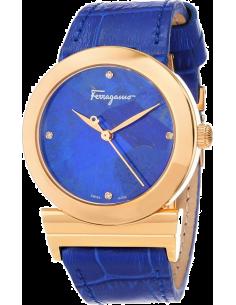 Chic Time | Montre Femme Salvatore Ferragamo FG2020013 Bleu - Prix : 1,099.00