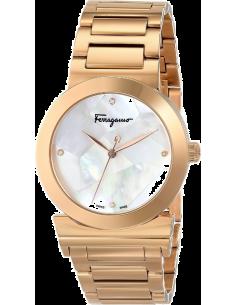 Chic Time | Montre Femme Salvatore Ferragamo FG2140013 Or Rose - Prix : 1,459.00