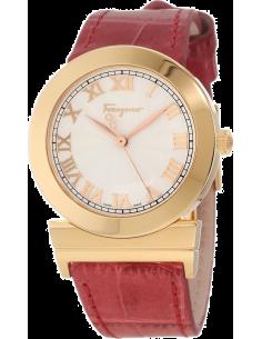 Chic Time | Montre Femme Salvatore Ferragamo F72SBQ5002S703 Rouge - Prix : 1,099.00