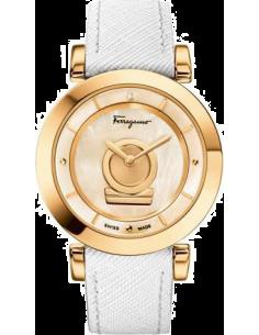 Chic Time | Montre Femme Salvatore Ferragamo FQ4030013 Blanc - Prix : 1,399.00