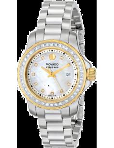 Chic Time | Montre Femme Movado Series 800 2600121 Argent  | Prix : 2,499.00
