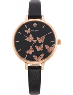 Chic Time | Montre Femme Kate Spade 1YRU0806 Noir  | Prix : 179,00€