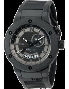 Chic Time | Montre Homme Salvatore Ferragamo F-80 F55LGQ6877S113 Noir  | Prix : 1,999.00
