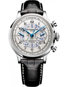 Chic Time   Montre Homme Baume & Mercier Capeland MOA10006 Noir    Prix : 6,540.00