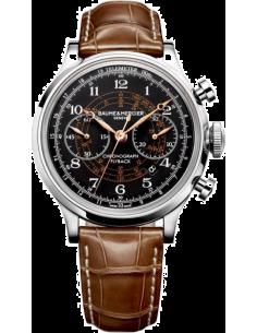Chic Time | Montre Homme Baume & Mercier Capeland MOA10068 Marron  | Prix : 6,540.00