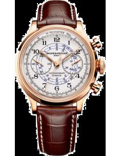 Chic Time | Montre Homme Baume & Mercier Capeland MOA10007 Marron  | Prix : 16,949.00