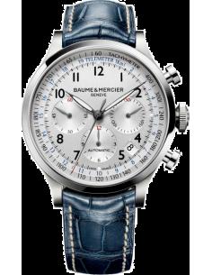 Chic Time | Montre Homme Baume & Mercier Capeland MOA10063 Bleu  | Prix : 3,790.00