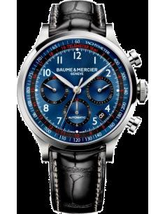 Chic Time | Montre Homme Baume & Mercier Capeland MOA10065 Noir  | Prix : 3,790.00