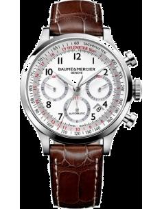 Chic Time | Montre Homme Baume & Mercier Capeland MOA10082 Marron  | Prix : 3,790.00